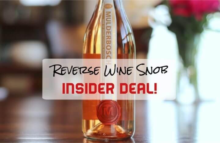 Insider Deal! Mulderbosch Cabernet Sauvignon Rosé - Patio Perfection