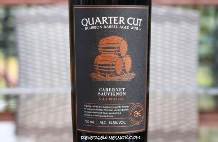 Quarter Cut Bourbon Barrel Cabernet Sauvignon – Sweet and Oaky