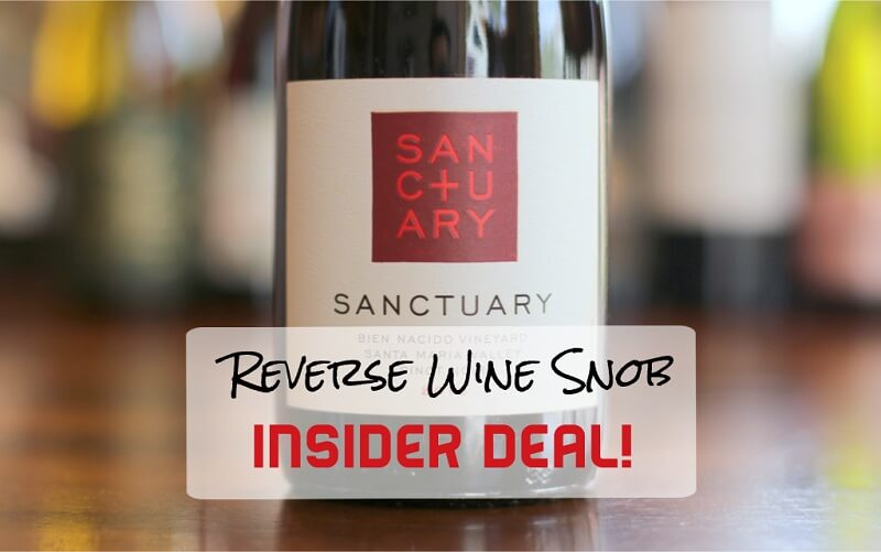A Heavenly Insider Deal! Sanctuary Bien Nacido Vineyard Pinot Noir 54% Off
