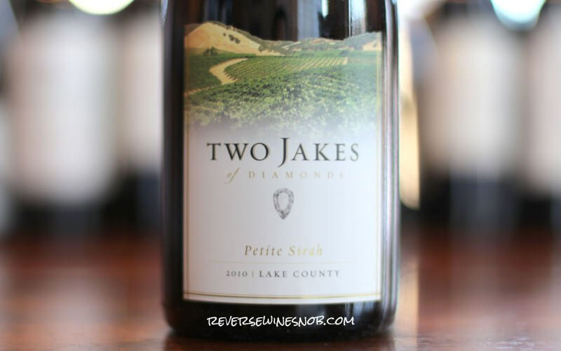 Insider Deal! 2010 Two Jakes of Diamonds Petite Sirah