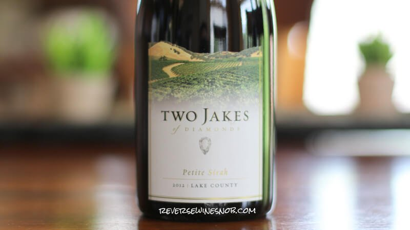 Insider Deal! 2012 Two Jakes of Diamonds Petite Sirah