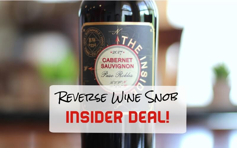 1 Day Insider Deal! Vinum Cellars The Insider Paso Robles Cabernet Sauvignon