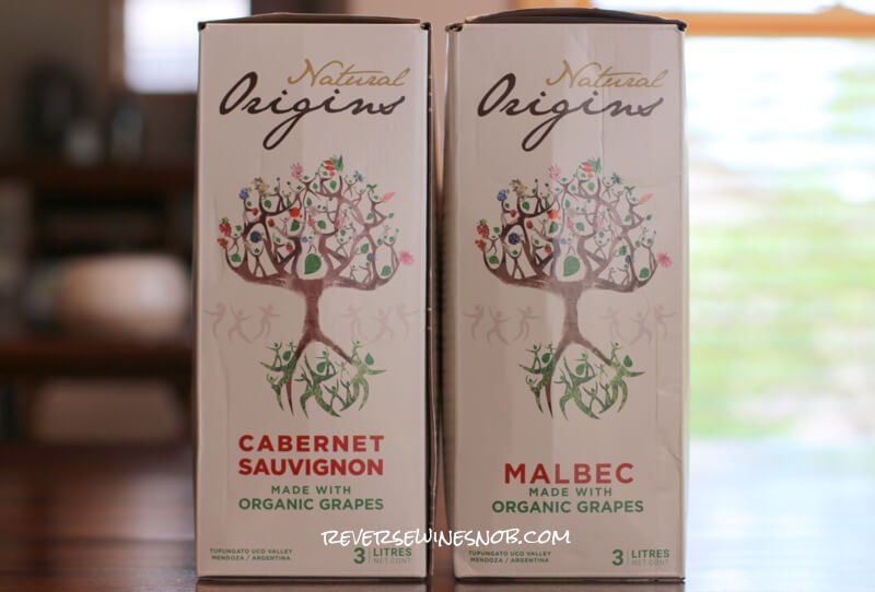 Natural Origins Malbec and Cabernet Sauvignon Box Wines – Naturally Good