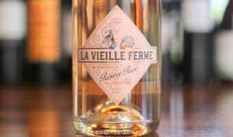 La Vieille Ferme Reserve Sparkling Rose - Fresh and Bubbly