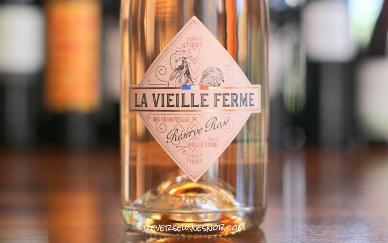 La Vieille Ferme Reserve Sparkling Rose - Fresh and Bubbly