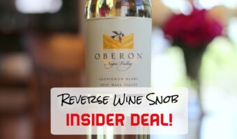 1 Day INSIDER DEAL! Bulk Buy Rated Napa Valley Sauvignon Blanc
