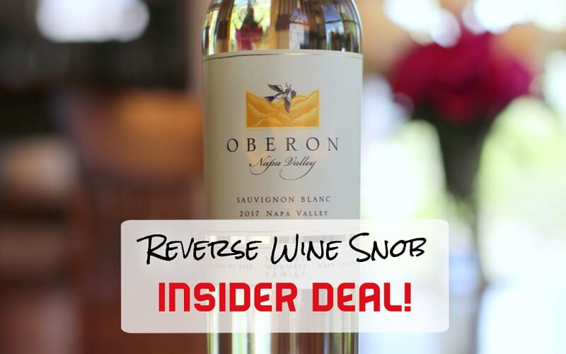 1 Day INSIDER DEAL! Bulk Buy Rated Napa Valley Sauvignon Blanc