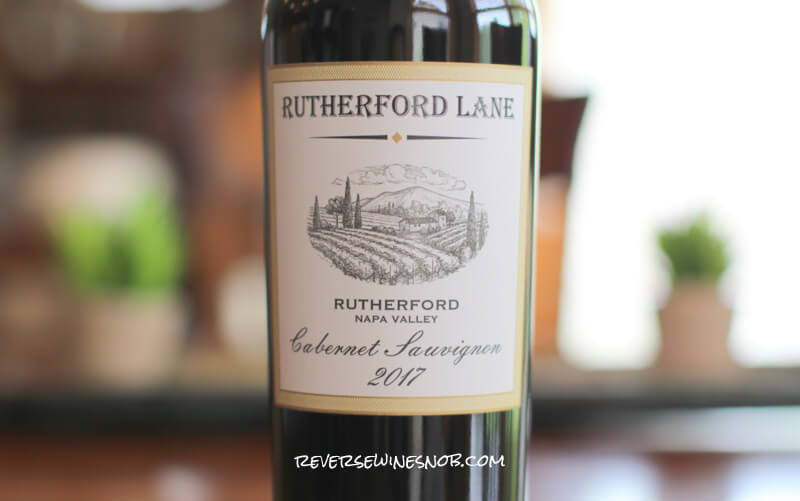 Rutherford Lane Cabernet Sauvignon - Rutherford For The Rest of Us