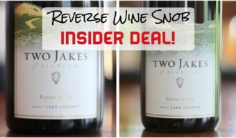 Insider Deal! Two Jakes of Diamonds - Petite Sirah Perfection!