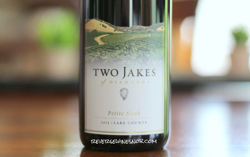 Insider Deal! 2013 Two Jakes of Diamonds Petite Sirah