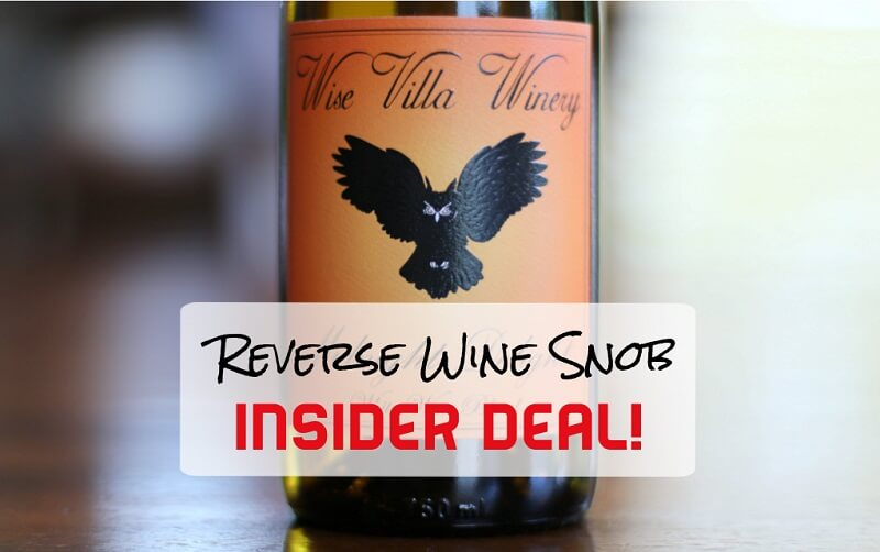 INSIDER DEAL! Wise Villa Winery Midnight Delight - One Sweet Deal