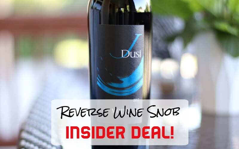 INSIDER DEAL! J Dusi Model M Red Blend - Dependably Delicious