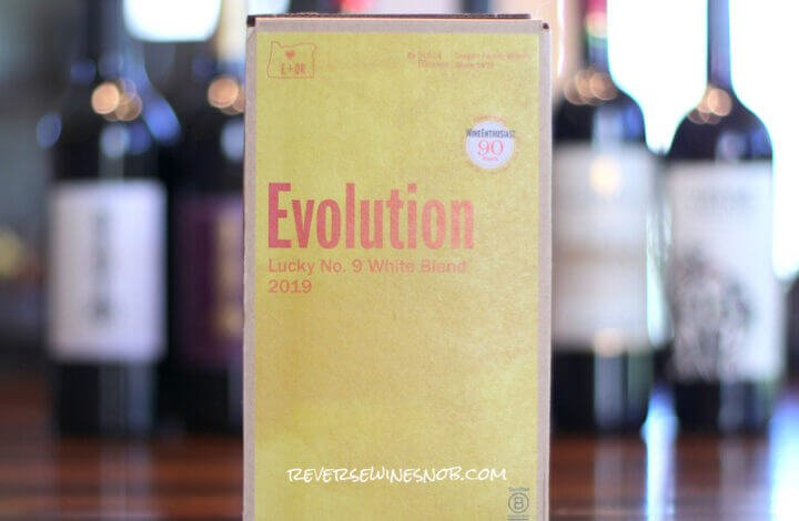 Sokol Blosser Evolution Lucky No. 9 White - A Masterful Creation