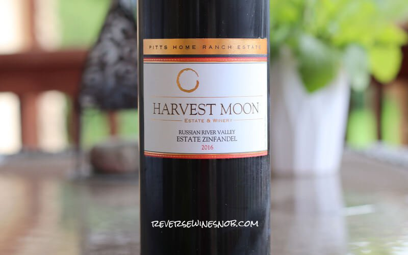INSIDER DEAL! Harvest Moon Pitts Home Ranch Zinfandel - Luscious
