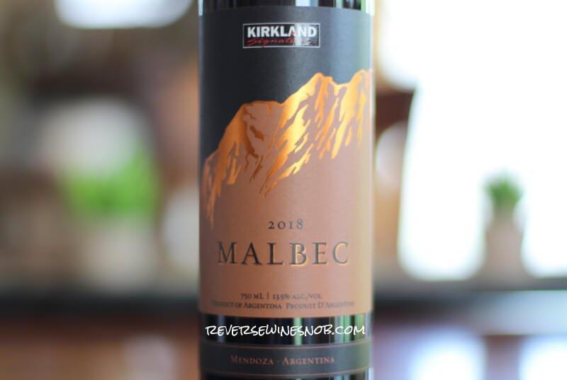 Kirkland Signature Malbec - Solid For $7