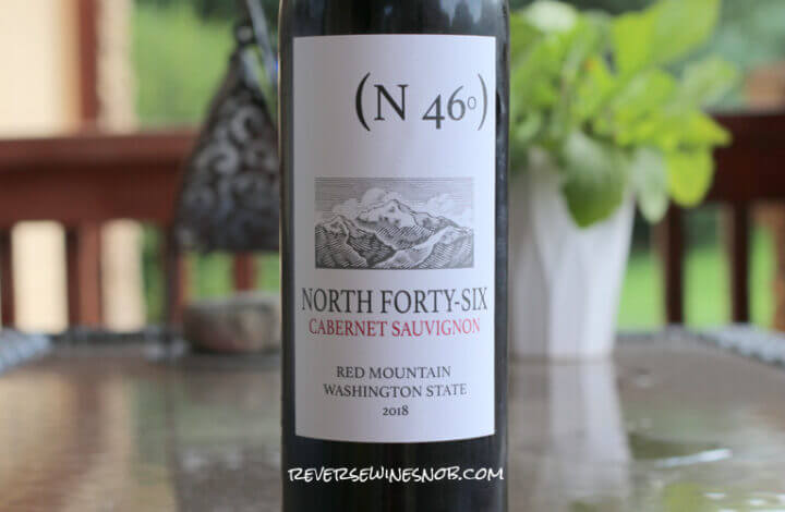 North Forty-Six Red Mountain Cabernet Sauvignon - Quite The Find