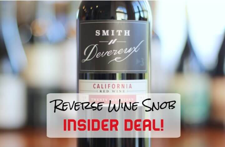 INSIDER DEAL! Smith Devereux No. 3 Red Blend - Triply Good