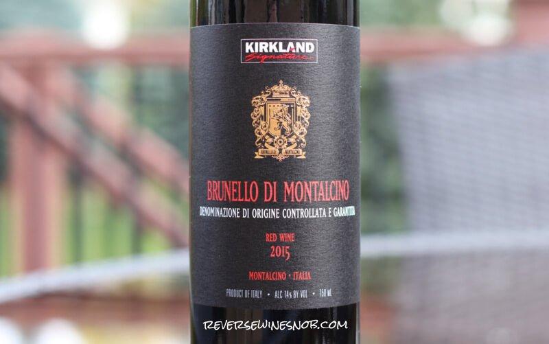 Kirkland Signature Brunello di Montalcino – True To Form
