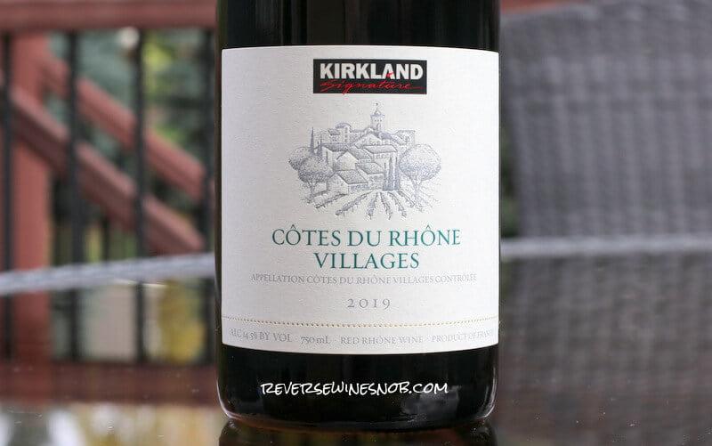 Kirkland Signature Cotes du Rhone Villages - A Whole Lot of Complexity For $7
