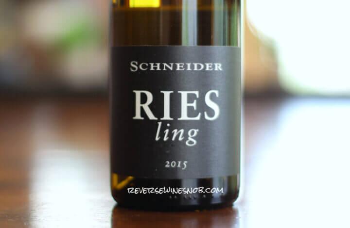 Schneider Riesling - Truly Tasty