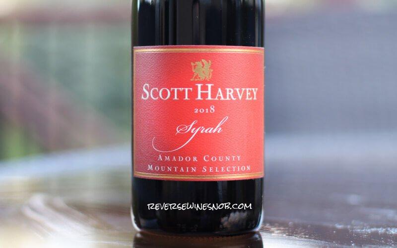2018 Scott Harvey Mountain Selection Syrah