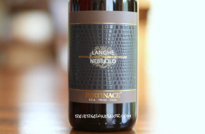 Pertinace Langhe Nebbiolo - Savory and Delicious