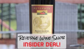INSIDER DEAL! Peterson Winery Dry Creek Valley Sangiovese – So Good
