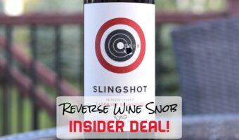 INSIDER DEAL! Slingshot North Coast Cabernet Sauvignon - Bullseye