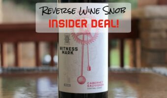 INSIDER DEAL! Witness Mark Cabernet Sauvignon - In The Groove