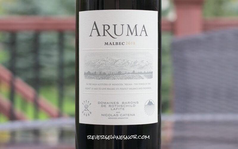 Bodegas Caro Aruma Malbec - Do Big Names = A Big Wine?