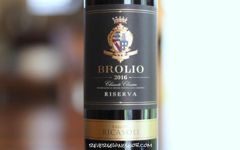 Barone Ricasoli Brolio Chianti Classico Riserva – Level Up