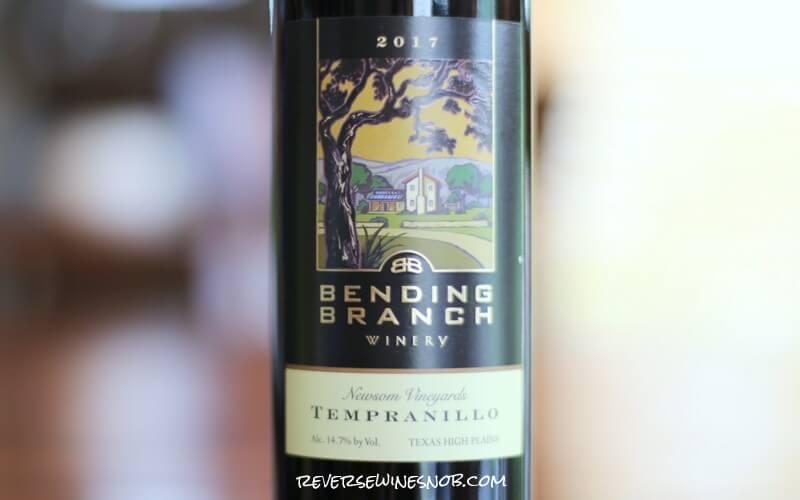 Bending Branch Newsom Vineyard Tempranillo – Temptingly Tasty