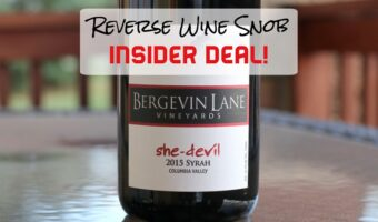 INSIDER DEAL! Bergevin Lane She-Devil Syrah - Bewitching
