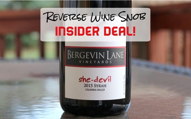 INSIDER DEAL! Bergevin Lane She-Devil Syrah - Bewitching