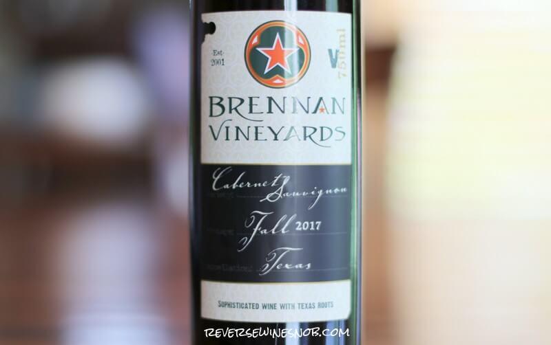 Brennan Vineyards Cabernet Sauvignon – Tasty!