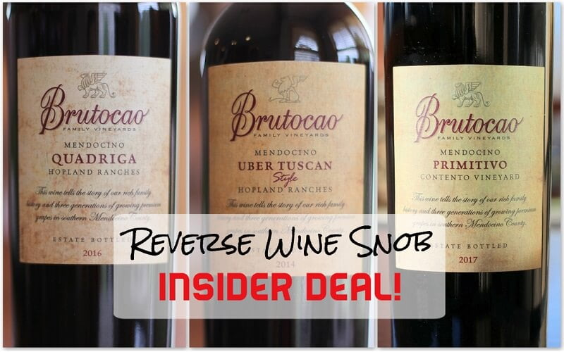 INSIDER DEAL! Brutocao Mixed Italians - A Tantalizing Trio