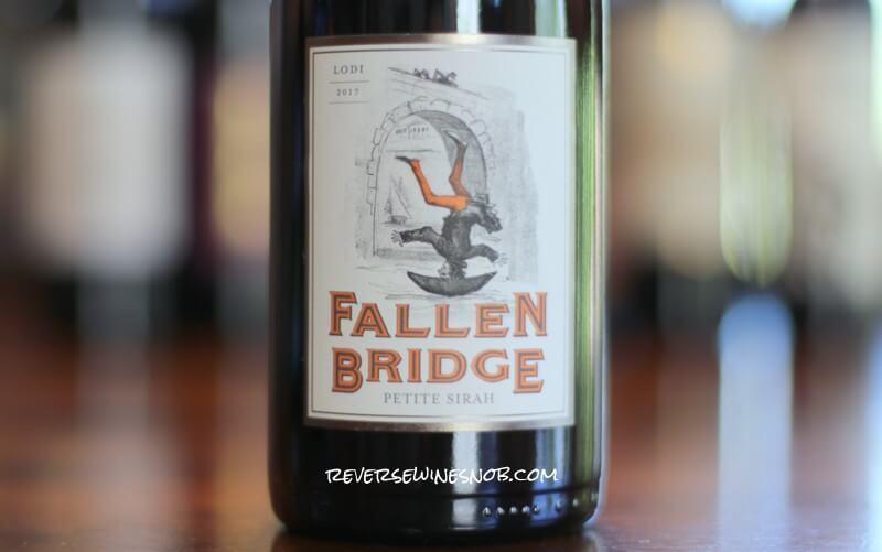 Fallen Bridge Petite Sirah – A Lucky Break