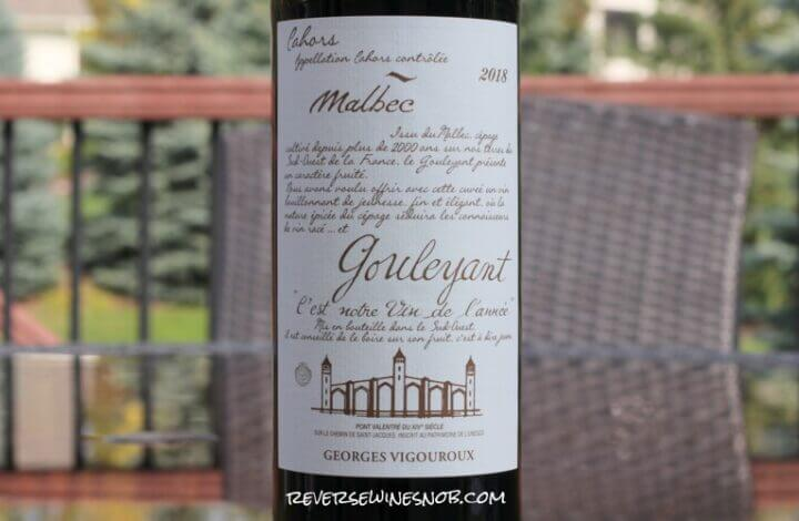 Gouleyant Malbec – A Simply Satisfying Sipper