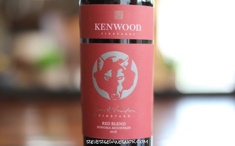 Kenwood Jack London Vineyard Sonoma Mountain Red Blend - Pretty Darn Delicious