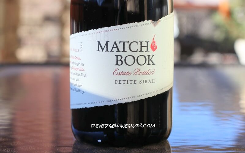 Matchbook Petite Sirah - Substantially Delicious