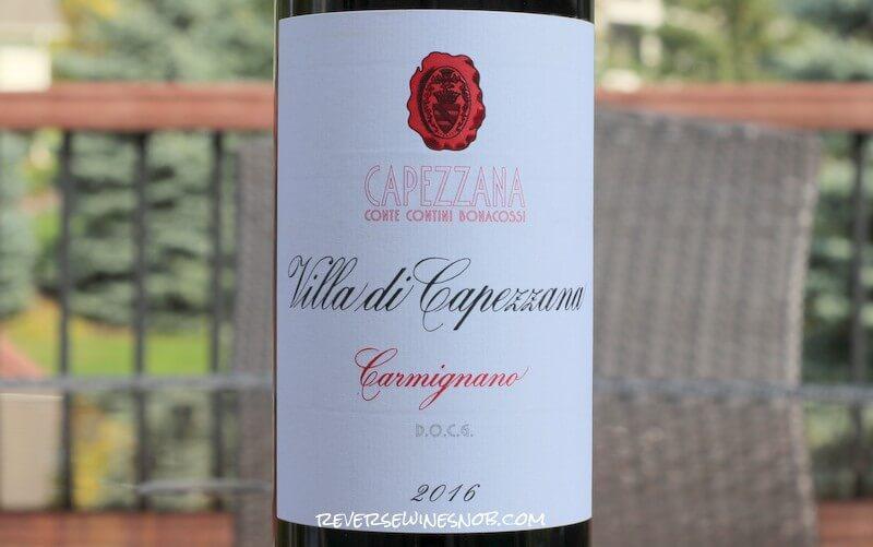 Villa di Capezzana Carmignano – Full-Bodied Deliciousness
