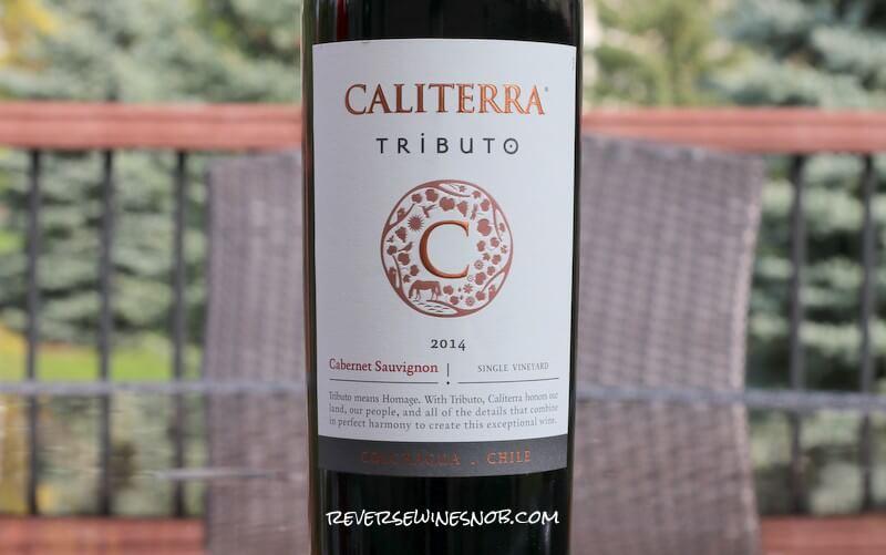 Caliterra Tributo Cabernet Sauvignon – Nicely Done