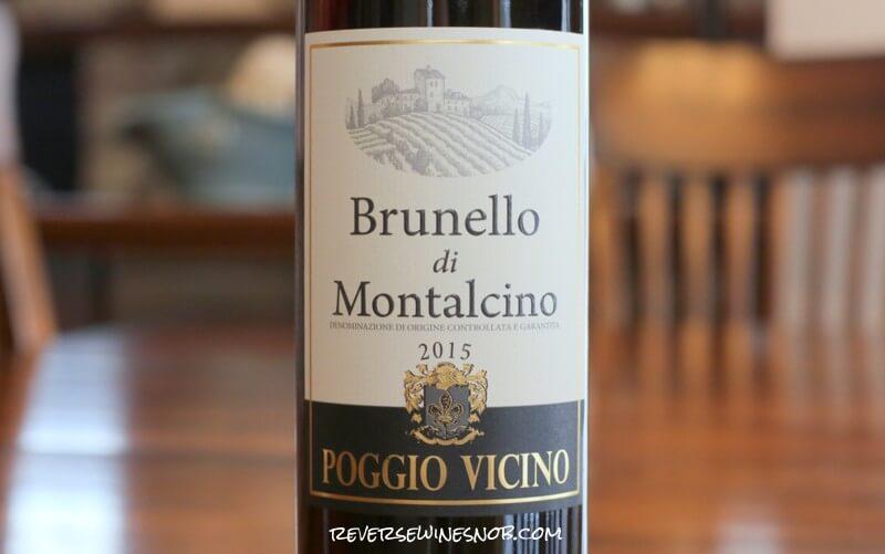 Poggio Vicino Brunello di Montalcino - Bargain Basement Brunello?