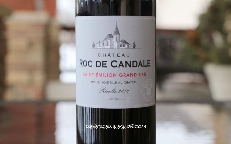 2014 Chateau Roc de Candale Saint-Emilion Grand Cru