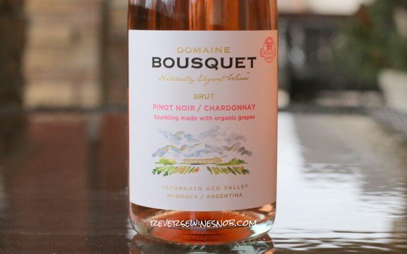 Domaine Bousquet Sparkling Rosé - Clean and Tasty