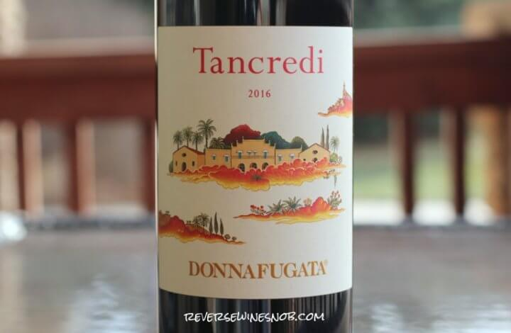 Donnafugata Tancredi - A Real Sweet Tart