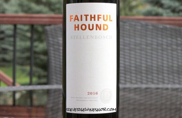 Mulderbosch Faithful Hound - A Reliable Blend