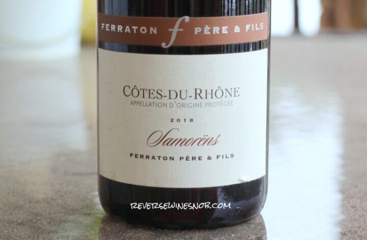Ferraton Pere & Fils Samorens Cotes du Rhone Rouge - Tempting