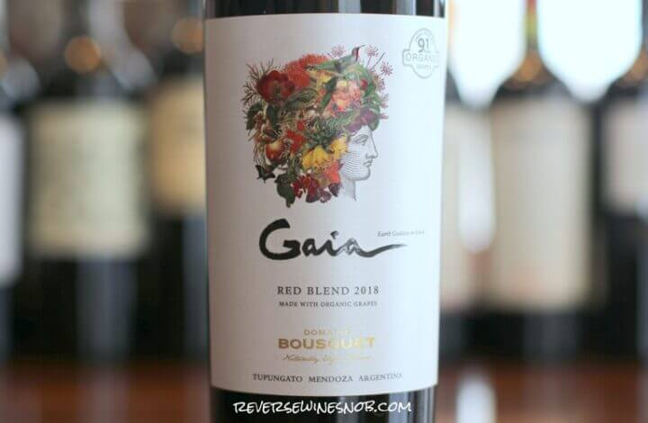 Domaine Bousquet Gaia Red Blend - Dark, Ripe and Juicy