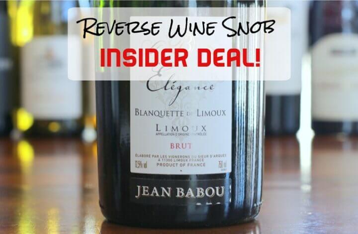 INSIDER DEAL! Jean Babou Elegance Blanquette de Limoux Brut